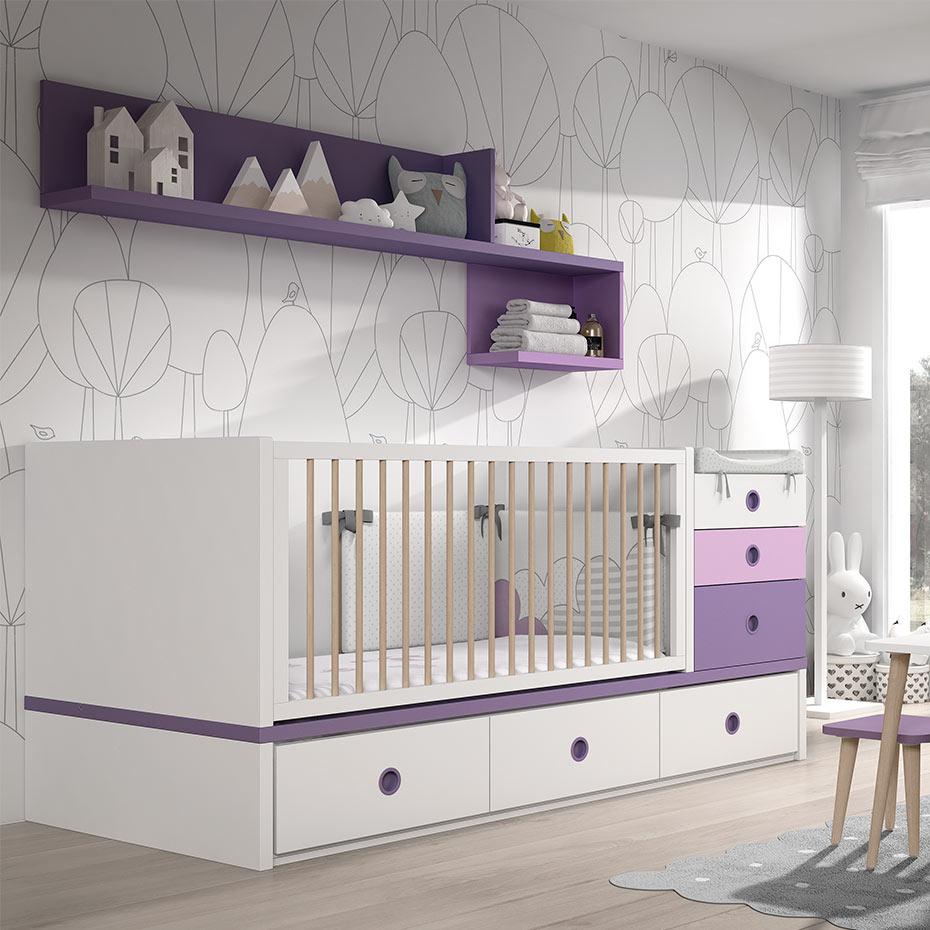Ros Mini. Cuna Covertible Fusion-1 22 – Maminens. La tienda del Bebé ...